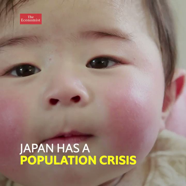 Japan's population is shrinking fast. What can be done to encourage people to have more babies? https://t.co/tNQrtsxWy7
