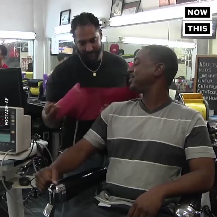 This barber is helping Black men stay healthy by checking their blood pressure https://t.co/ETTeov1sUP