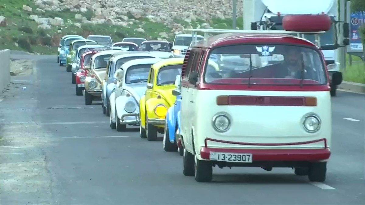 Vintage Volkswagen beetles cruise the streets of Jordan's capital city https://t.co/3DZMTjXrP6 https://t.co/wWTIj1EXZd