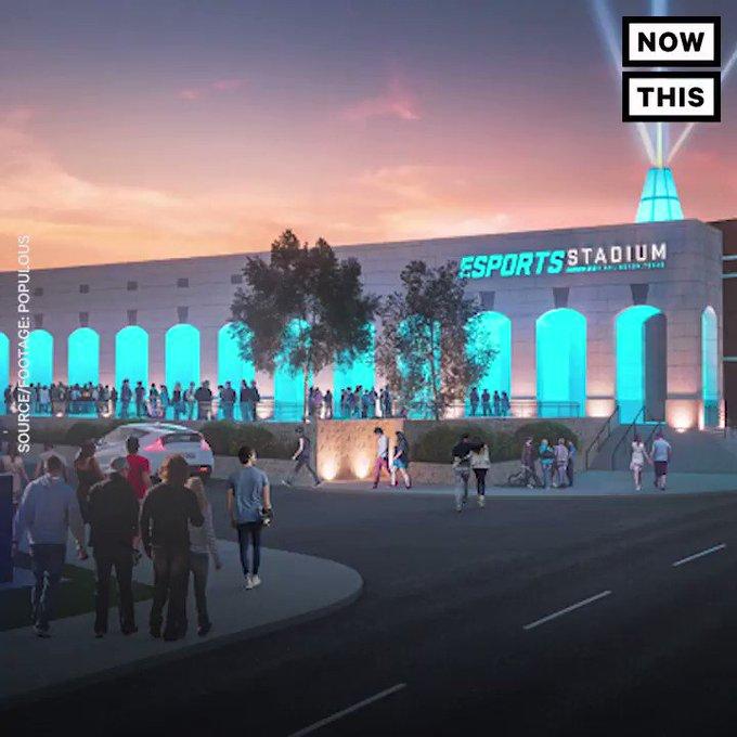 eSports is getting its own $10 million stadium https://t.co/KcfRDqhZGV