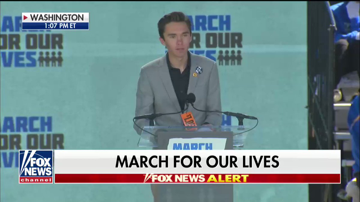 """.@davidhogg111: """"Let's put the USA over the @NRA."""""""
