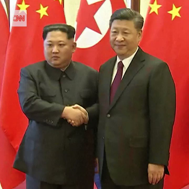 North Korea's Kim Jong Un just made a surprise visit to China