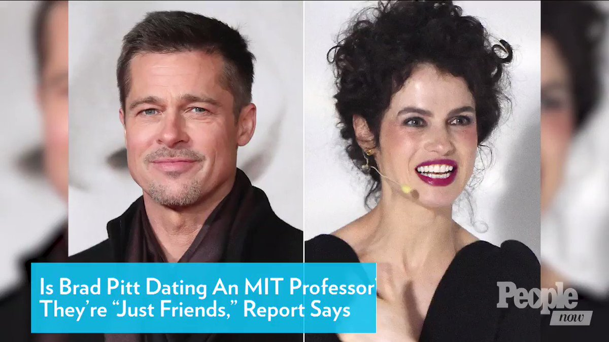 Is Brad Pitt Dating a MIT Professor? They're 'Just Friends,' Report Says