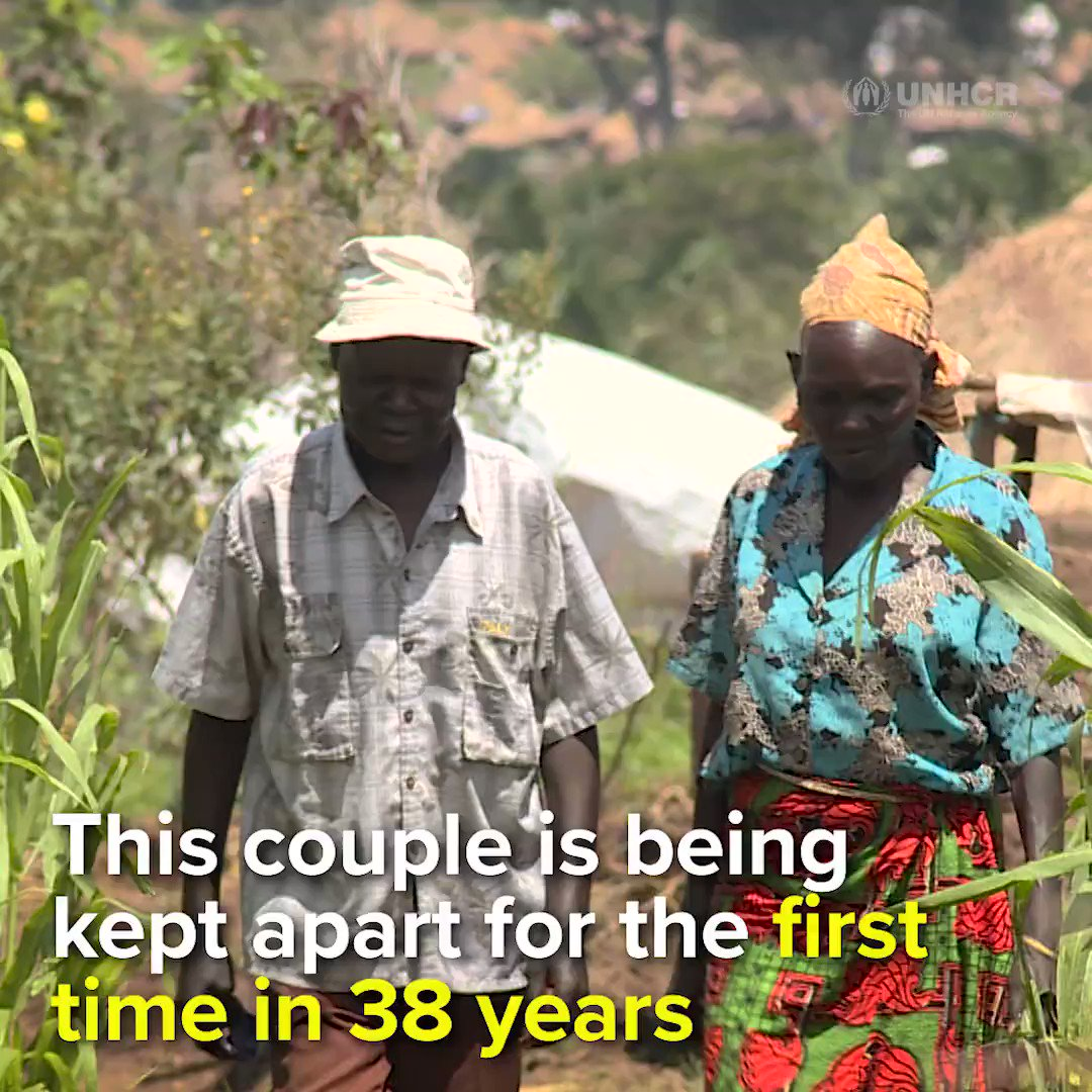 RT @Refugees: This couple is forced to live apart for the first time in 38 years https://t.co/0W6yJ8qPIb https://t.co/G18E53aRtN