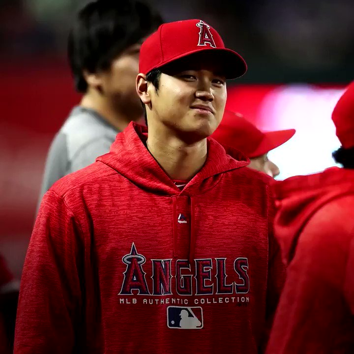 Ask and you shall receive — even from Shohei Ohtani!  One lucky fan ended up with the @Angels star's bat. https://t.co/I13zOdSUgO