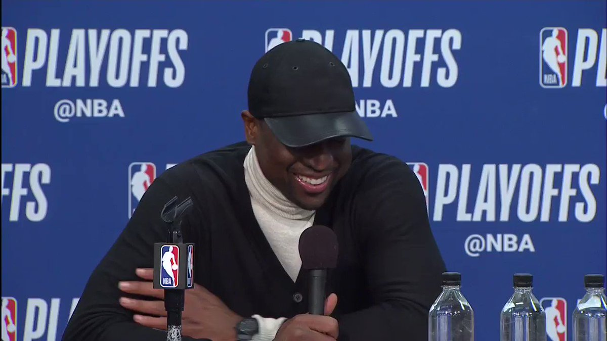 Family motivation for D-Wade!  #ThisIsWhyWePlay #NBAPlayoffs https://t.co/xQrP04X54D