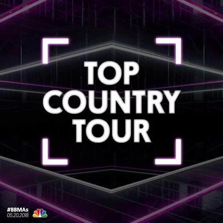 RT @BBMAs: <Top Country Tour Nominees> _ @LukeBryanOnline _ @FLAGALine _ @TheTimMcGraw + @FaithHill  </#BBMAs> https://t.co/1PkvKdKlez