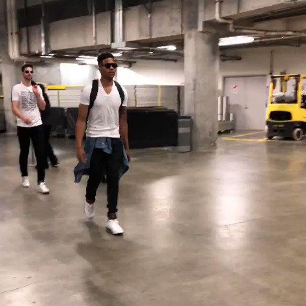#1️⃣ pick.  Markelle Fultz arrives in Miami for his 1st career road #NBAPlayoffs game!  ��: TNT - 7pm/et https://t.co/gfyXpor7Nl