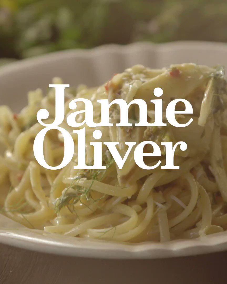 Crab linguine... but not as you know it.  ????  As seen on @Channel4's Jamie's Comfort Food. https://t.co/wNpuDvuoHC