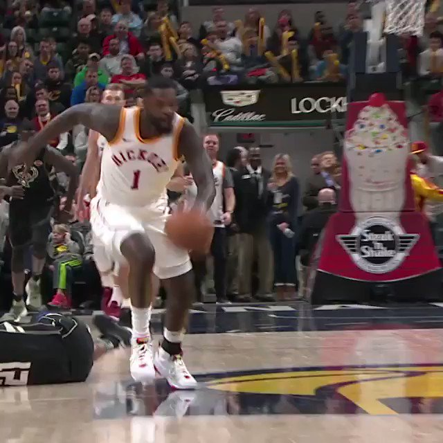 It's @StephensonLance's fanciest assists of the year, before @cavs x @pacers Game 4!8:30 pm/et, @NBAonTNT https://t.co/q1T1IqbhZi