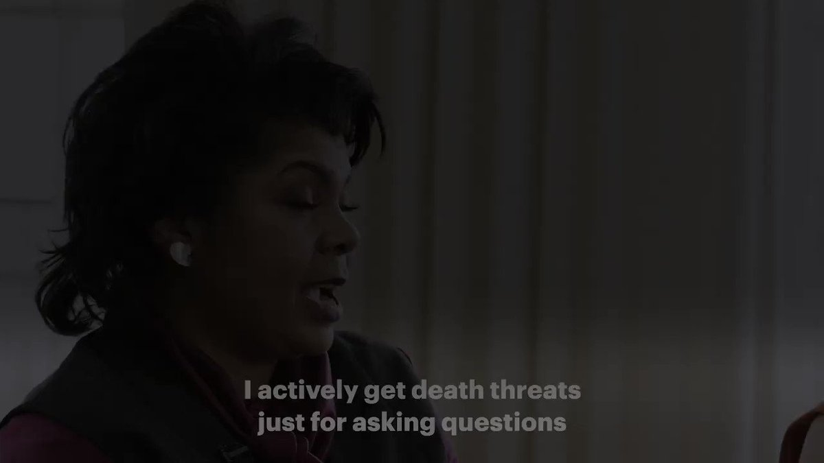 White House correspondent @AprilDRyan says she 'actively gets death threats'