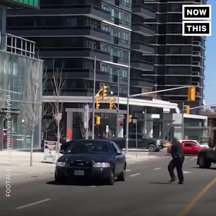 Toronto collision: Pedestrians toronto