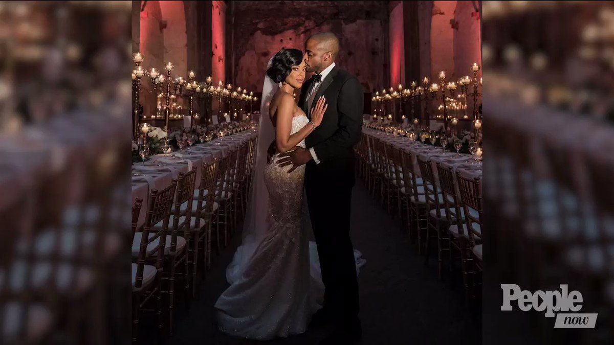 Inside 'West Wing' Star Dulé Hill's Dream Wedding to Jazmyn Simon