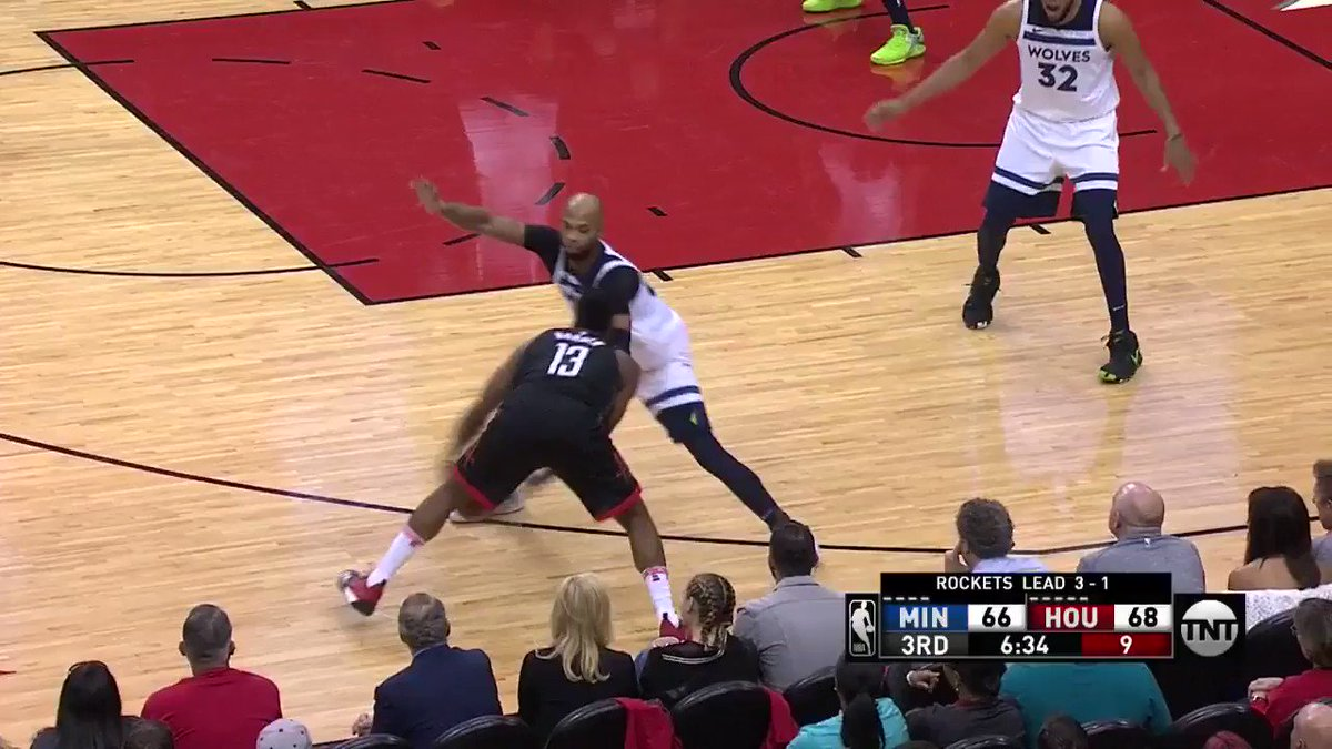 �� James Harden TAKES FLIGHT! ��  #Rockets @NBAonTNT https://t.co/YIHnt3Y5n5
