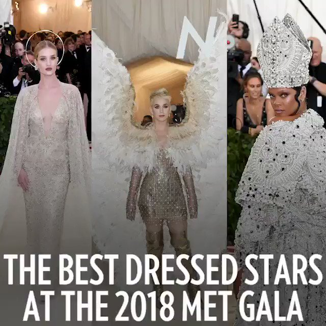 These stars dressed to impress! See the most stunning looks on the MetGala red carpet: