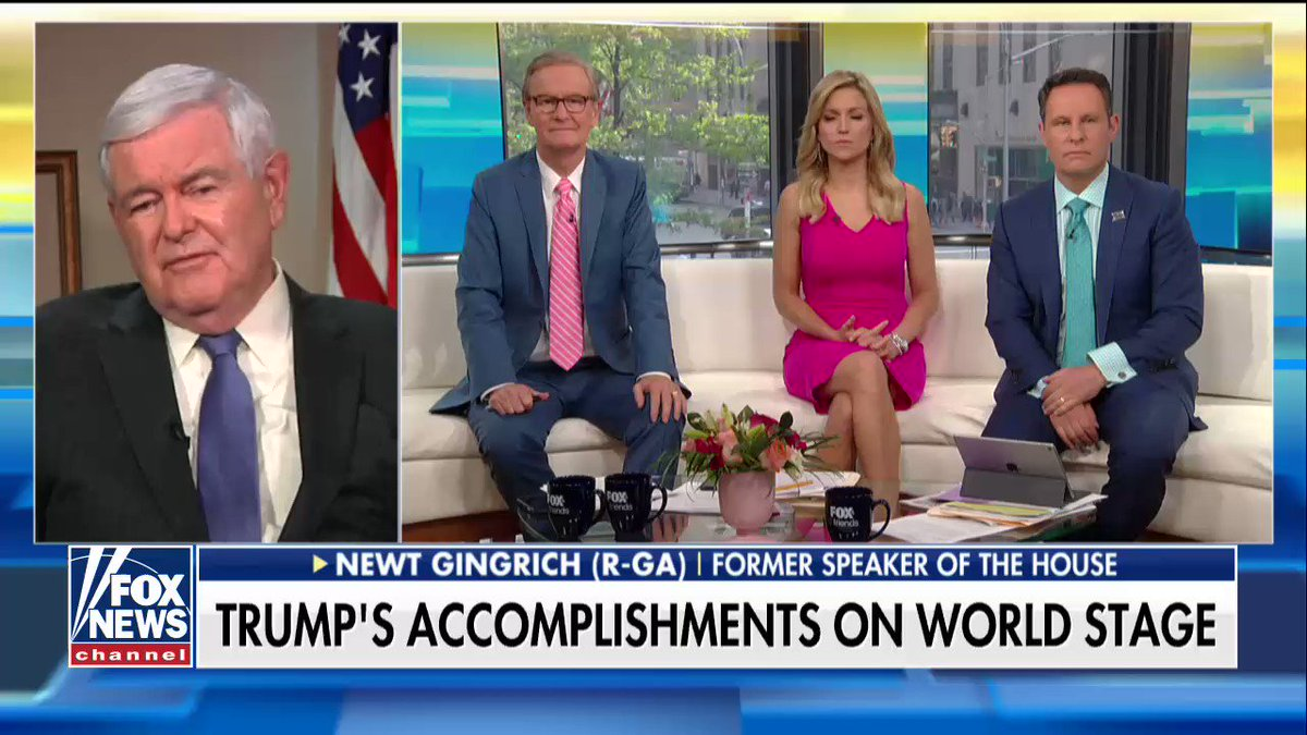 """.@newtgingrich: """"The thing that's remarkable about Trump is he's very consistent in his strategic goals."""" https://t.co/FVTc7dKxNY"""