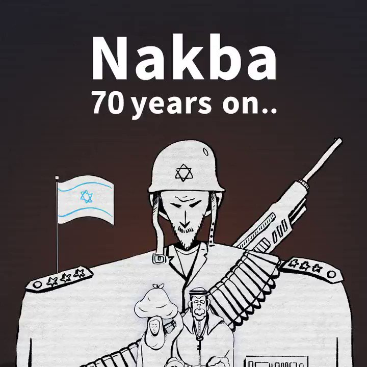 70 years of the Nakba — explained. https://t.co/qKjeAVoh9P