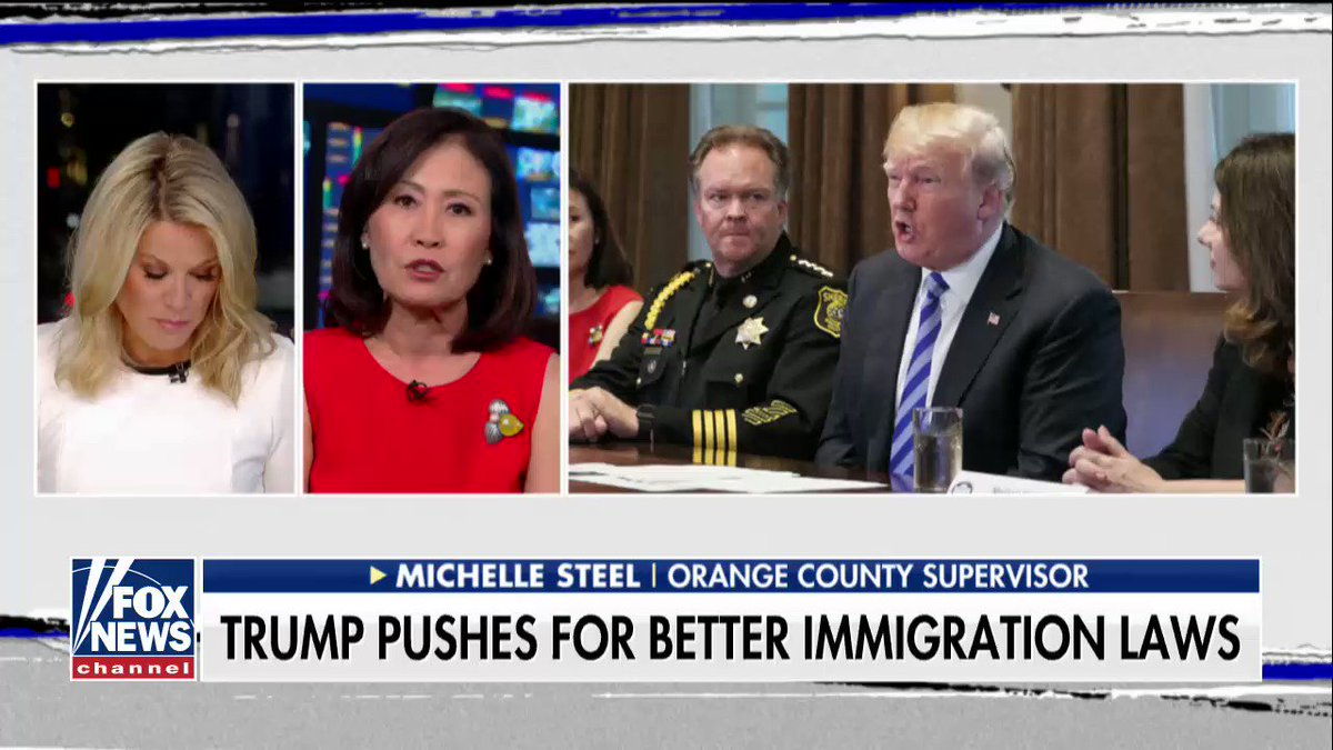 Orange County Supervisor Michelle Steel on California's state sanctuary law: 'This is unconstitutional.' #TheStory https://t.co/302dyOt9qx
