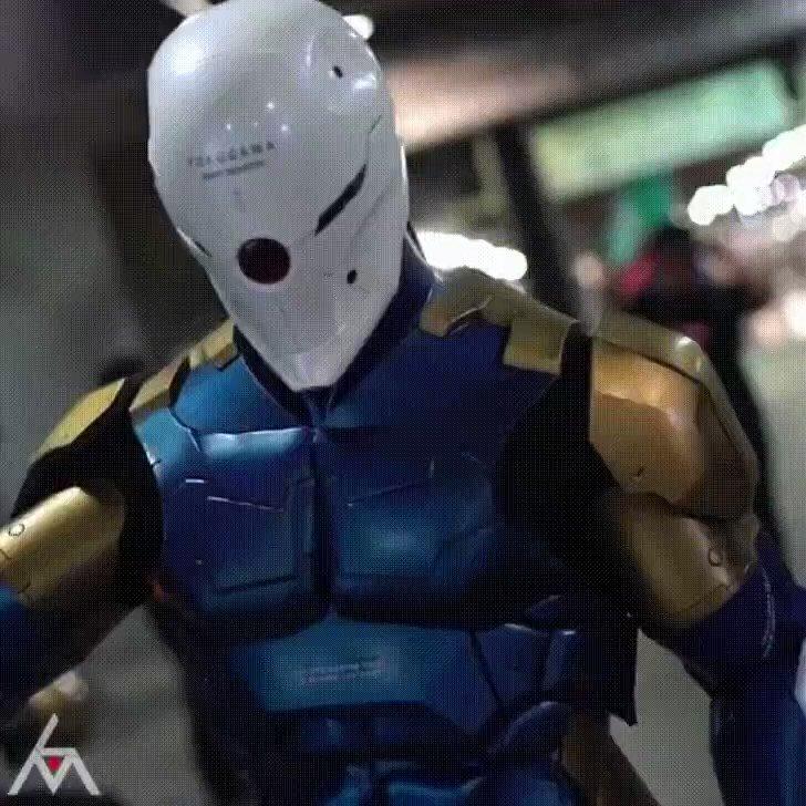 Ce cosplay Gray Fox de Metal G jvcom