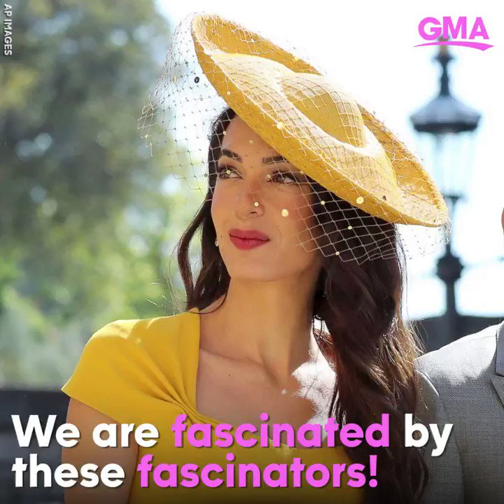Hats off to the BEST fascinators at the royal wedding! We loved these looks! https://t.co/60uwya5FLt #RoyalWedding https://t.co/542ETFlttZ