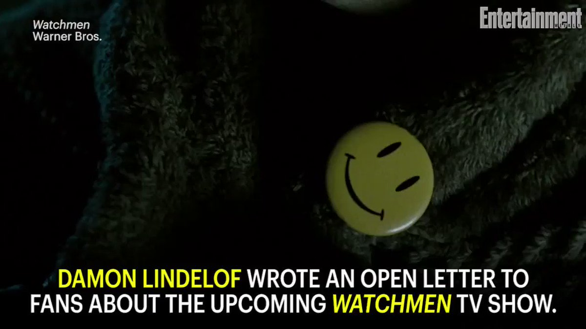 Damon Lindelof shares details of new HBO Watchmen show in a candid letter to fans: