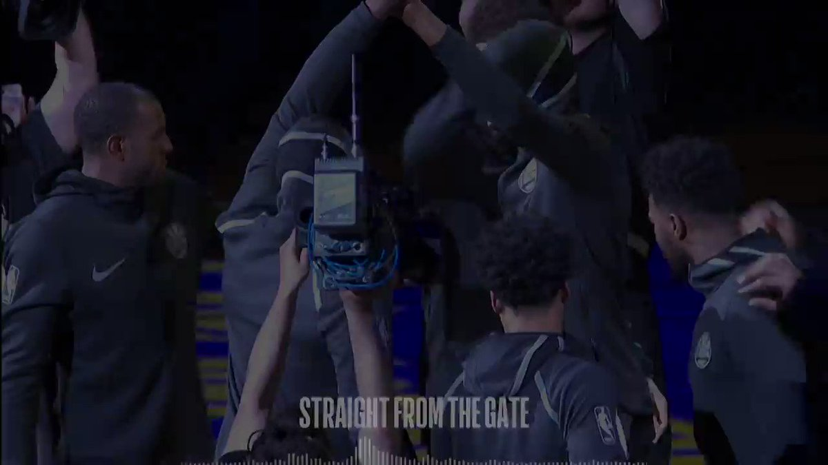 Listen in as @Money23Green is mic'd up on the floor!   ��: #Rockets x #DubNation G5  ⏰: 9:00pm/et  ��: @NBAonTNT https://t.co/OIp3lVWQZS