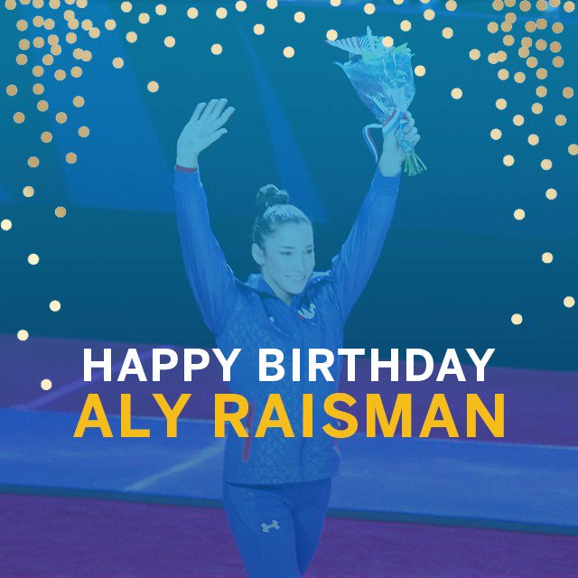 Wishing very Happy Birthday! We were honored to host you for the Olympic Trials in 2016!