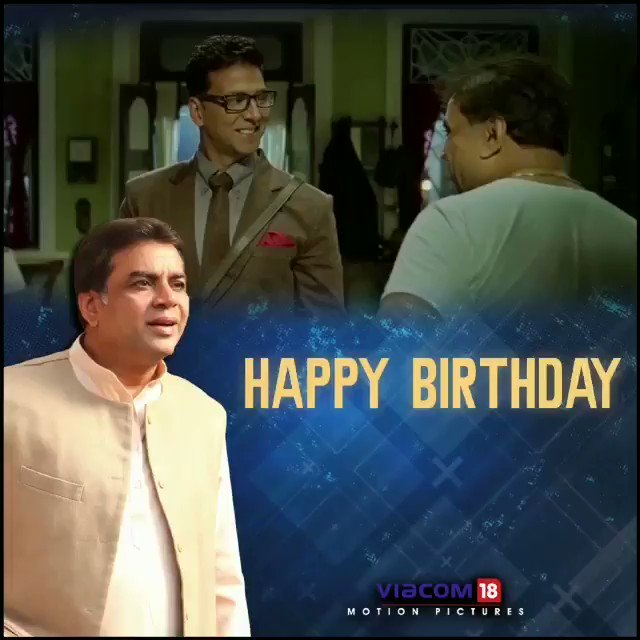 Wishing the inimitable Paresh Rawal a very Happy Birthday.