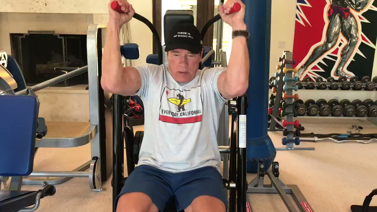 Second workout of the day! The surgery comeback is all about reps, reps, reps. #thereisnomagicpill https://t.co/lBBJJ7rI98