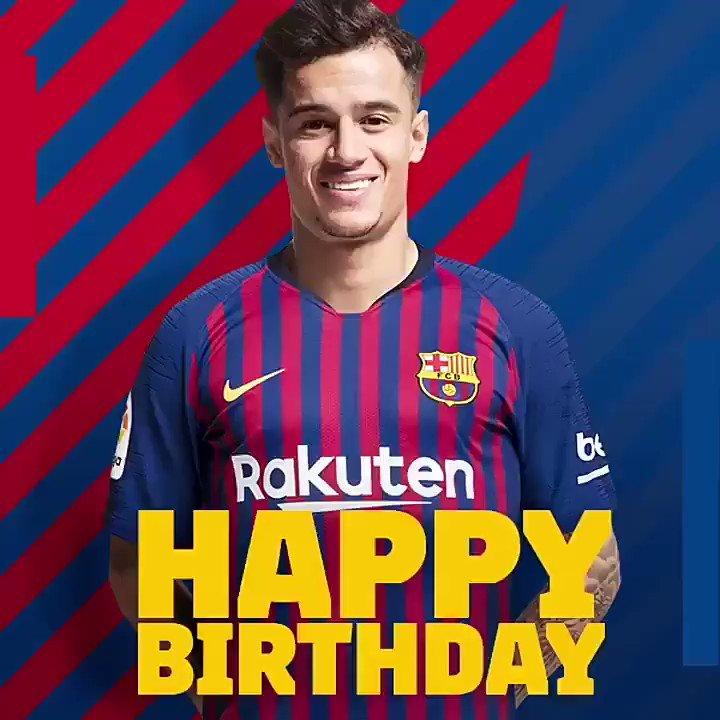 Happy Birthday Philippe Coutinho.