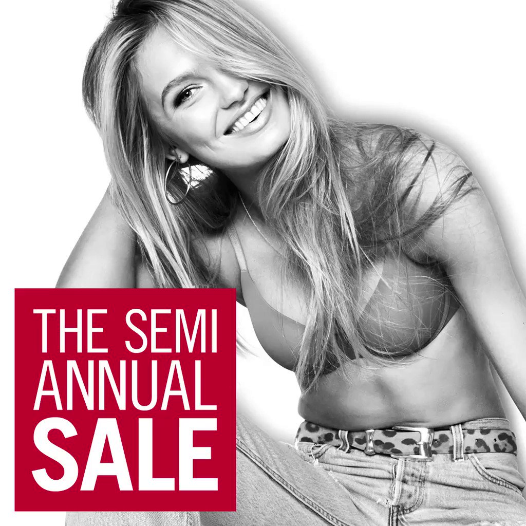 Mid-week shopping spree, anyone? The #VSSemiAnnualSale is on. https://t.co/v4CkV94MAO https://t.co/1ACPq03YEr