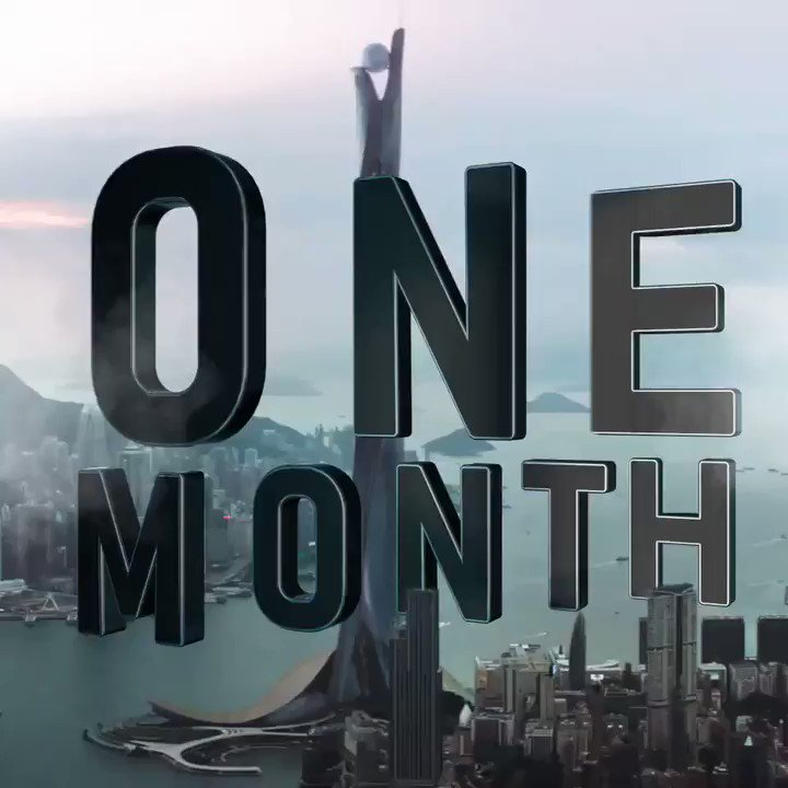 In ONE MONTH.. yup, it all goes wrong.  #SKYSCRAPER JULY 13th ???? https://t.co/73aA2E946g