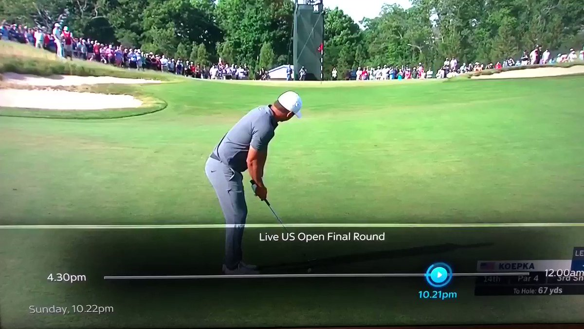 RT @GregorLauder: @porksmith Erm, did an American chap just shout out 'Clem Fandango' at the golf? https://t.co/7cwe0E6Uyx