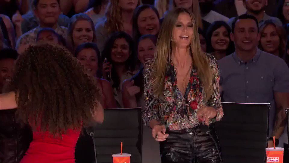 I feel lucky I get to judge and dance all day! So excited for tonight's episode of @agt! #AGT #Season13 https://t.co/LnViuzovlT