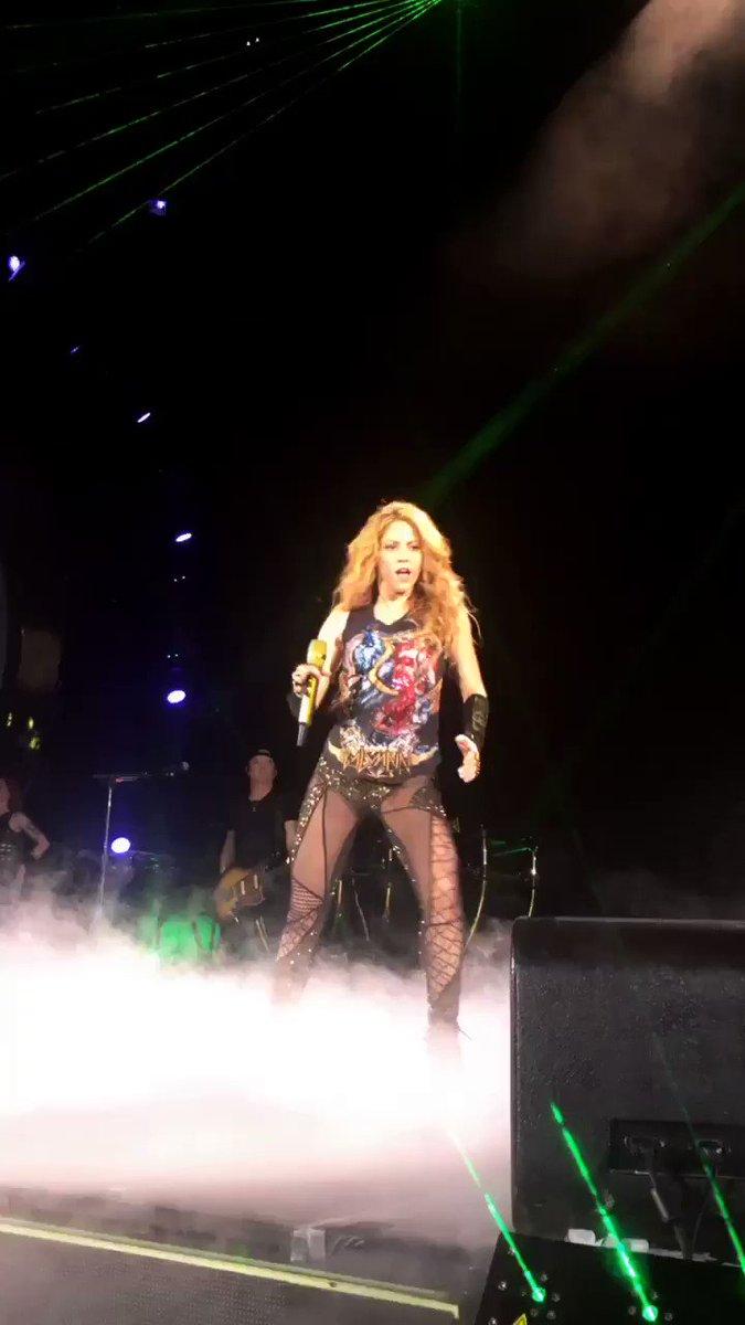 She Wolf #ShakiraBarcelona ShakHQ https://t.co/tI5rYZH5w7