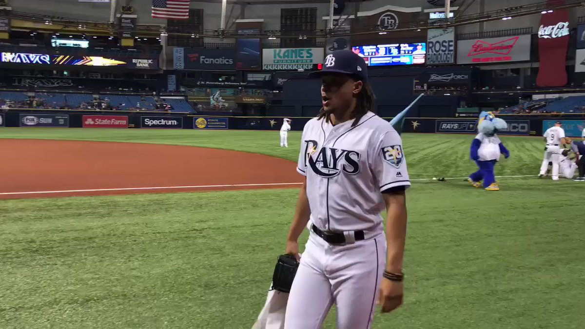 Missed you.  #RaysUp https://t.co/wM5pZkBGCy