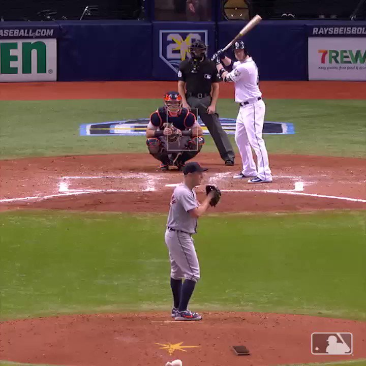 Don't look now but @CCron24 is heating up. ��  #RaysUp https://t.co/otcuuMkCcC