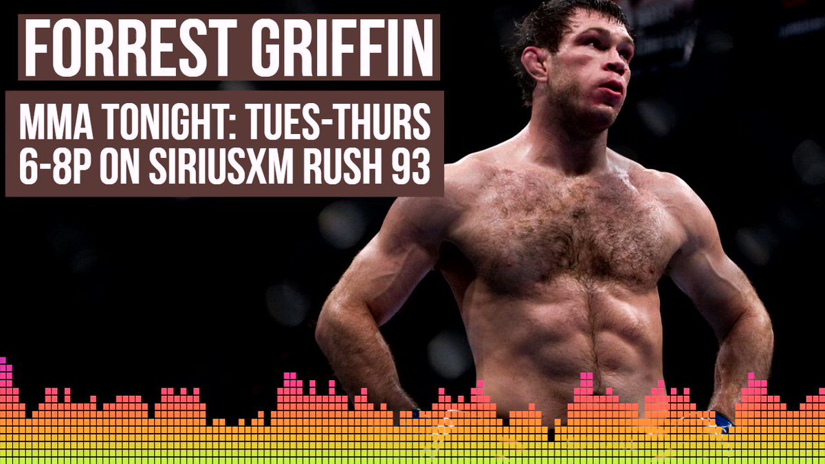 RT @MMAonSiriusXM: .@ForrestGriffin: At the end of the day, UFC is