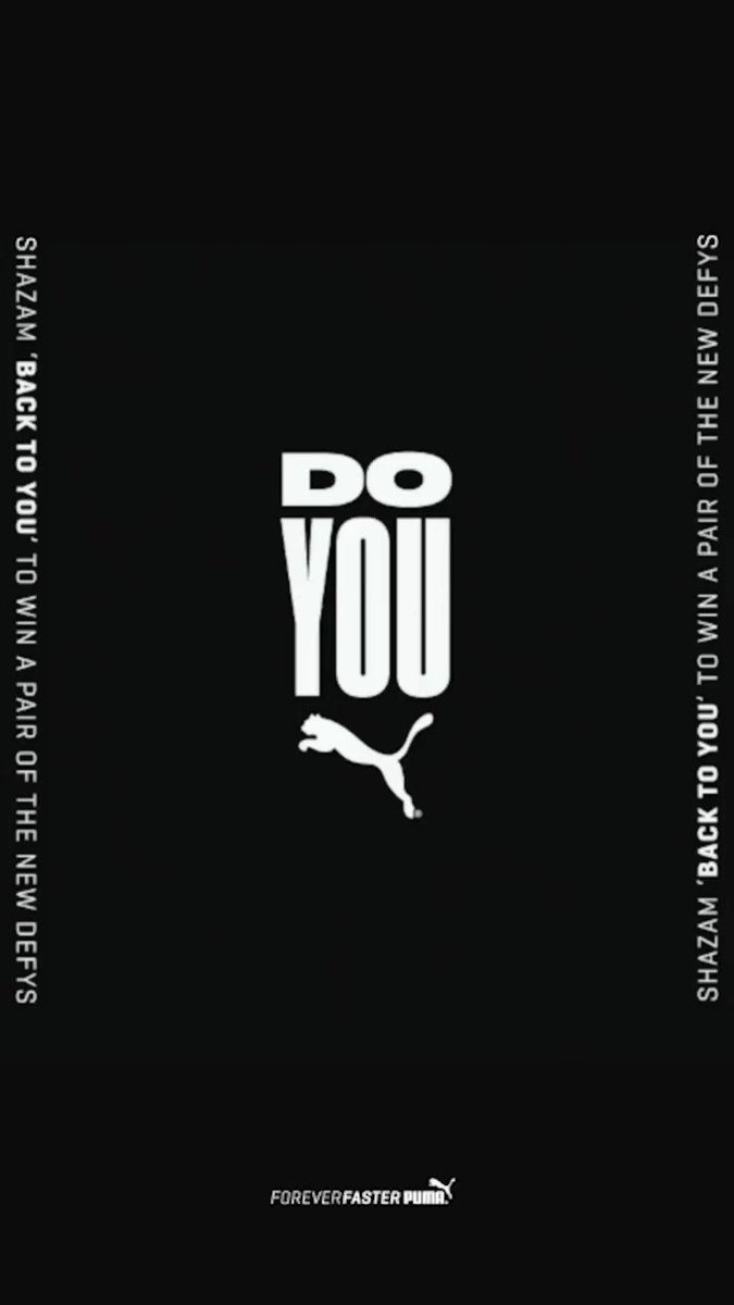 .@Shazam 'Back To You' now to enter to win a pair of @PUMA DEFY sneakers and an autographed poster! �� https://t.co/YkSNvS623x