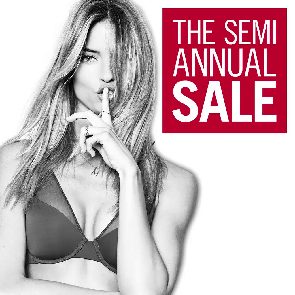 Better late than never: shop the Semi-Annual Sale in stores now! https://t.co/UkzMJwcoFQ https://t.co/BsTnkfNoDV