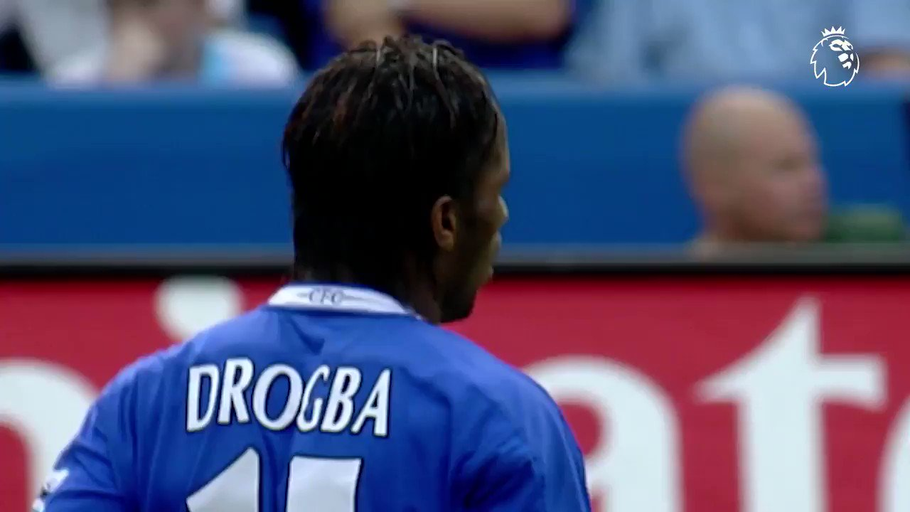 ⚽️ 104 #PL goals 👟 2 Golden Boots 🏆 4 Premier League titles  @didierdrogba joined @ChelseaFC #OnThisDay in 2004 https://t.co/BXkNGsX83d