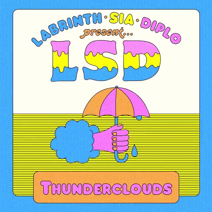 New #LSD out tomorrow ⚡????️⚡ @labrinth @diplo - Team Sia https://t.co/N7Q0NyTIel