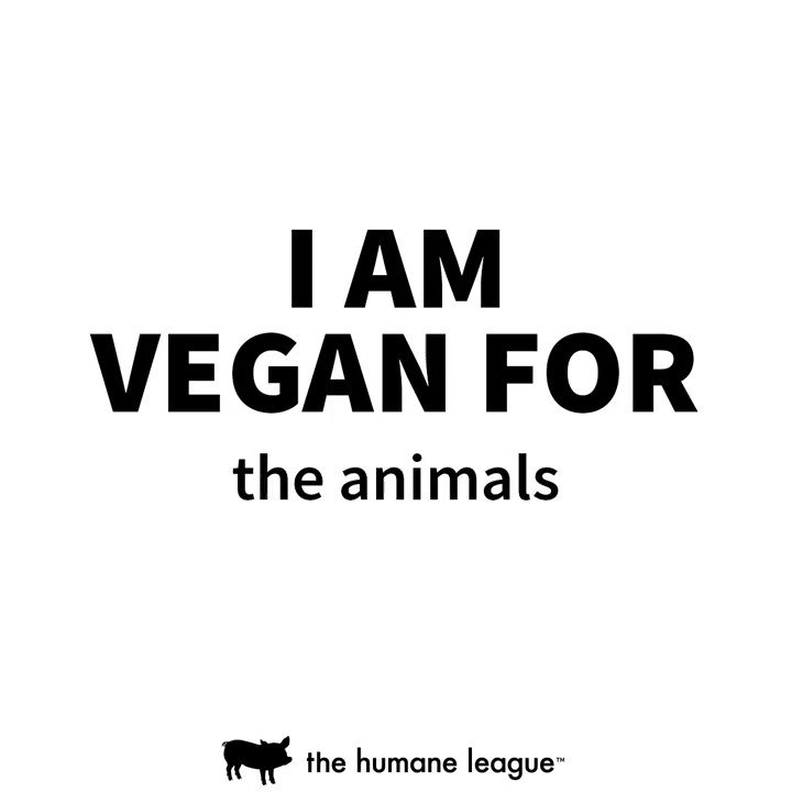 RT @TheHumaneLeague: What made you decide to go #vegan? ???? https://t.co/f990O3QzZh