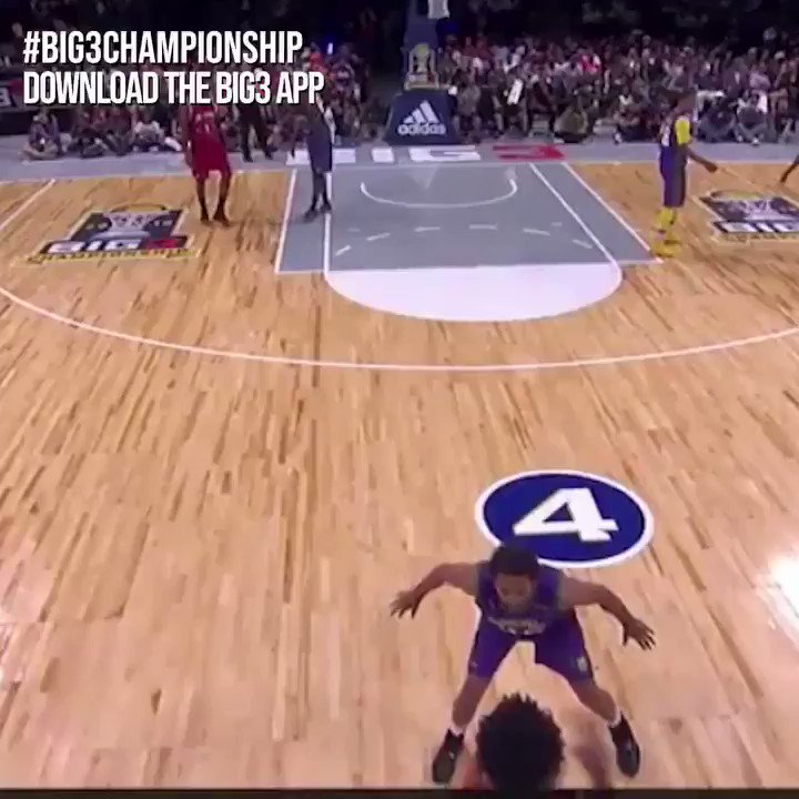 RT @thebig3: David Hawkins with the spin #BIG3Championship #BIG3Brooklyn https://t.co/Im8VbZa4Tw