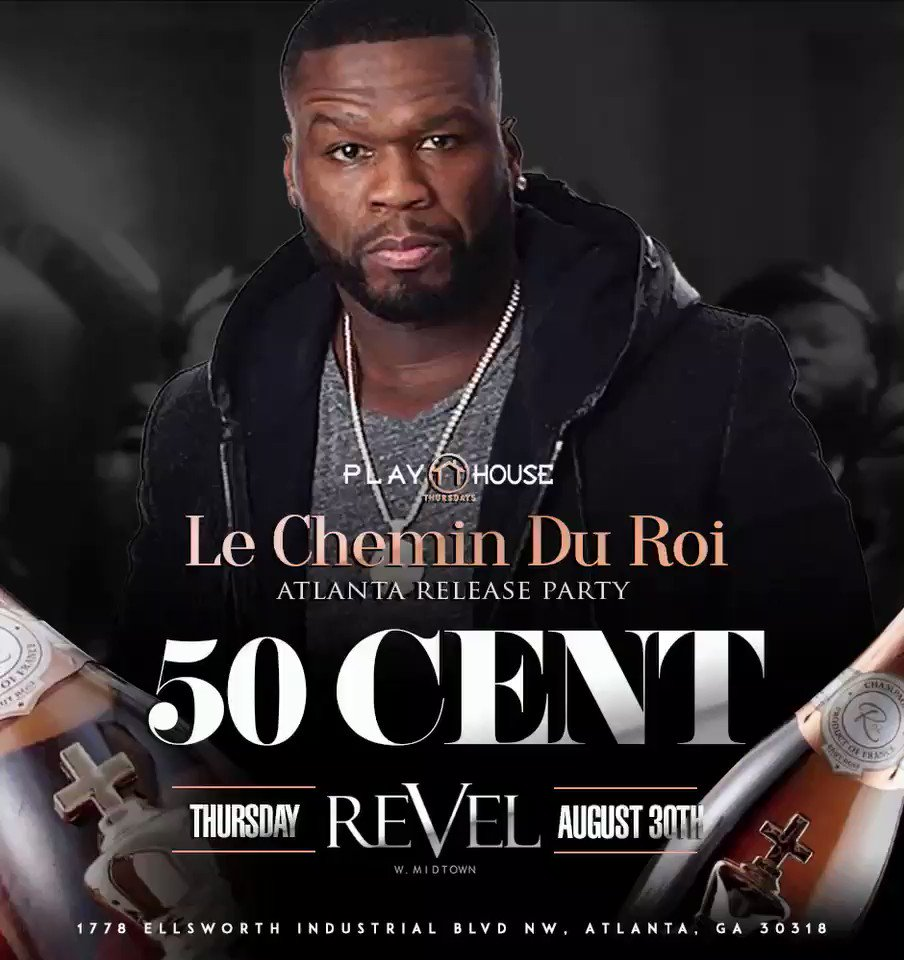 Atlanta, make sure you show up tonight... it's gonna be lit #lecheminduroi ???? https://t.co/9VICS7Y1um