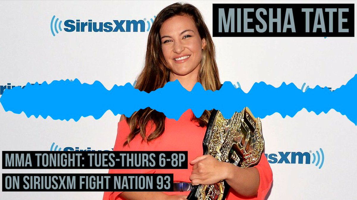RT @MMAonSiriusXM: .@MieshaTate: Why Jackson-Wink should have been more loyal to