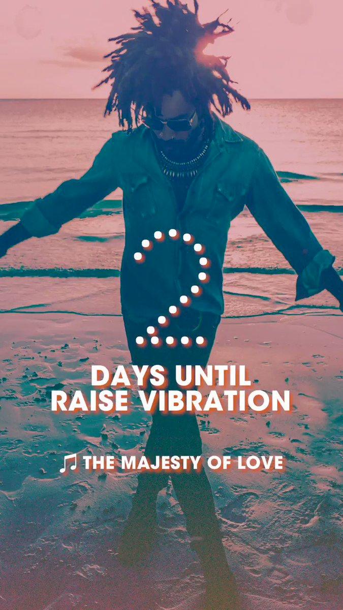 2 days until Raise Vibration.   https://t.co/Dh4EvbtNHo https://t.co/SCLLkh1cMe