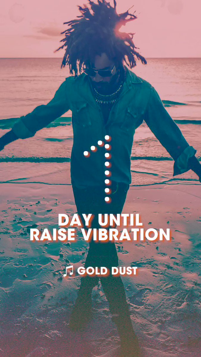 1 day until Raise Vibration  https://t.co/Dh4EvbtNHo https://t.co/DFTUEyovKU