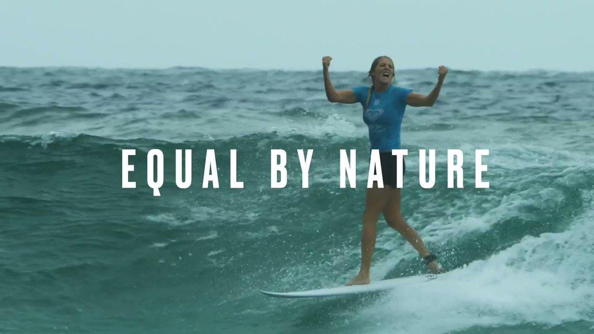 Equality. Congratulations @wsl https://t.co/VWshm0oZyN