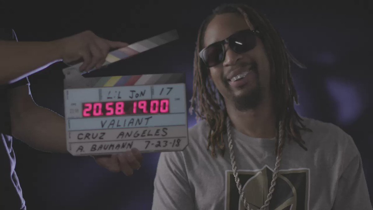 RT @Valiant_Doc: Behind the scenes with Lil Jon #Valiant #vgk #lasvegas #goldenknights https://t.co/xYpl4KxA95